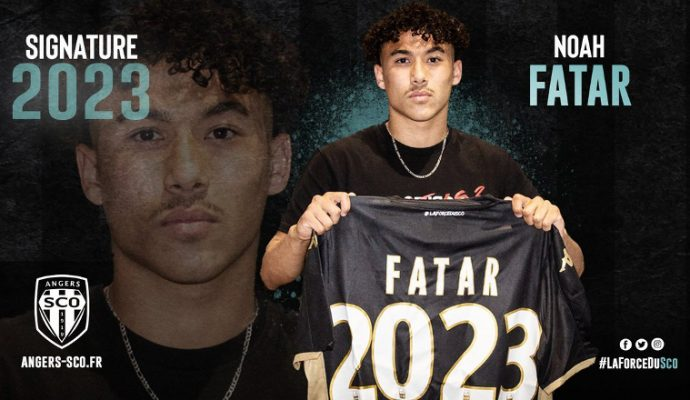 Football : Noah Fatar rejoint le SCO d'Angers