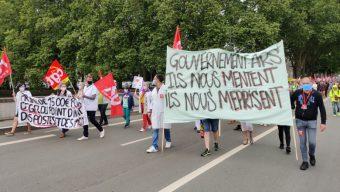 Les soignants prévoient une nouvelle journée de mobilisation le 16 juin