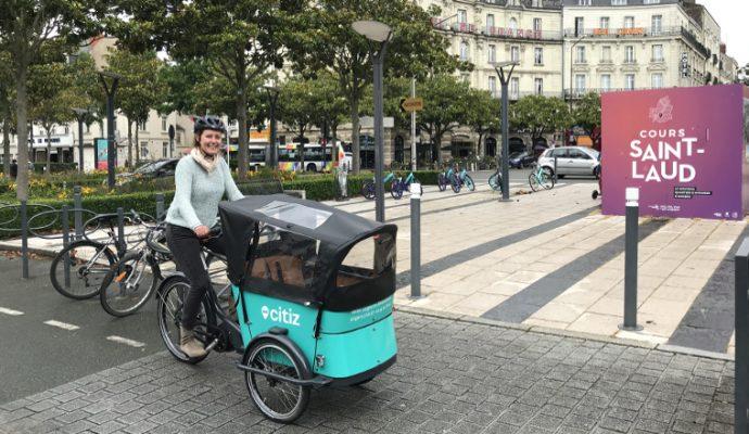 Un service de location de vélos-cargos lancé par la ville d'Angers