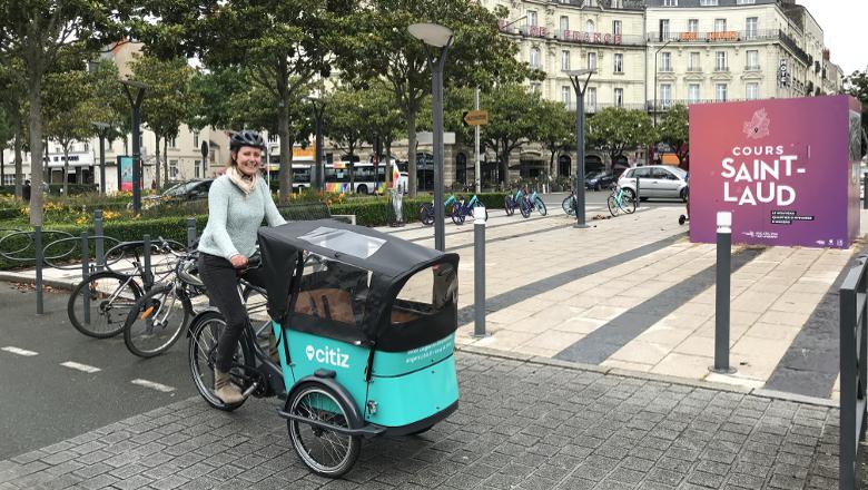 service de location de vélos-cargos