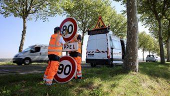 410 km de routes repassent à 90 km/h à partir de la semaine prochaine
