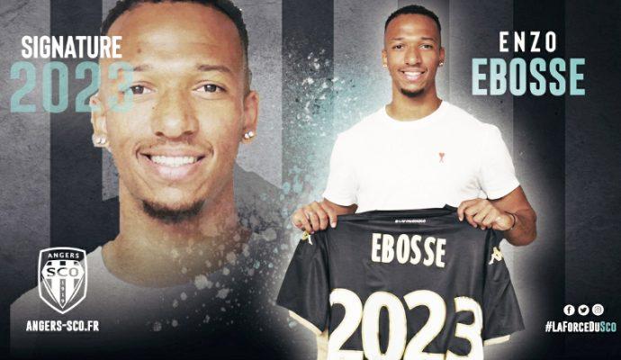 Football : Enzo Ebosse, nouvelle recrue du SCO d'Angers