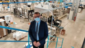 Le groupe Kolmi-Hopen ouvre un deuxième site de production de masques dans l'agglomération