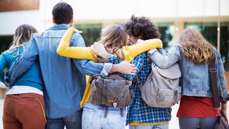 étudiants groupe