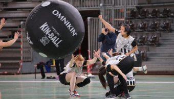 L'équipe féminine Angers SCO Kin-ball jouera en première division cette saison