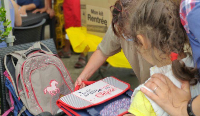 Le Secours Populaire vient en aide aux plus jeunes pour la rentrée