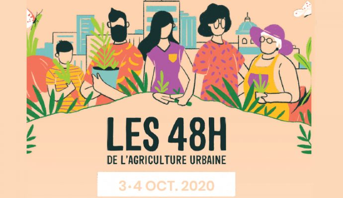 Les 48h de l'agriculture urbaine auront lieu à Angers les 3 et 4 octobre