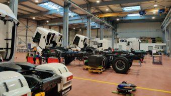 Scania France poursuit le développement de son site angevin
