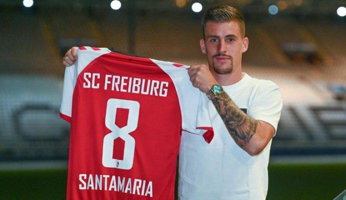 Football : Baptiste Santamaria quitte Angers SCO pour rejoindre Fribourg
