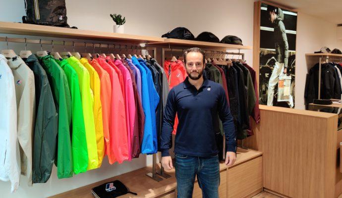 La marque K-Way ouvre une boutique à Angers