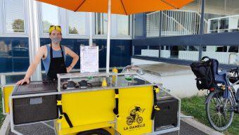Un premier food-bike vient régaler les angevins