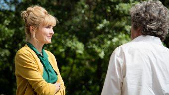 Julie Gayet et Nicolas Vanier à Angers pour l'avant-première du film Poly