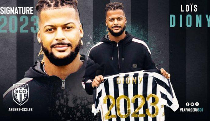 Football : Loïs Diony rejoint Angers SCO