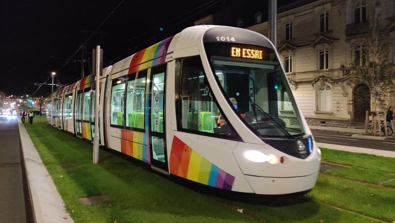 Essai tramway Carnot