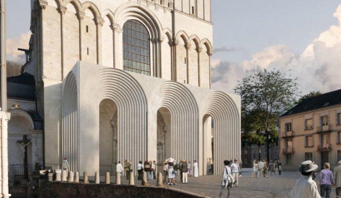 Un architecte japonais va redessiner l'entrée de la cathédrale Saint-Maurice