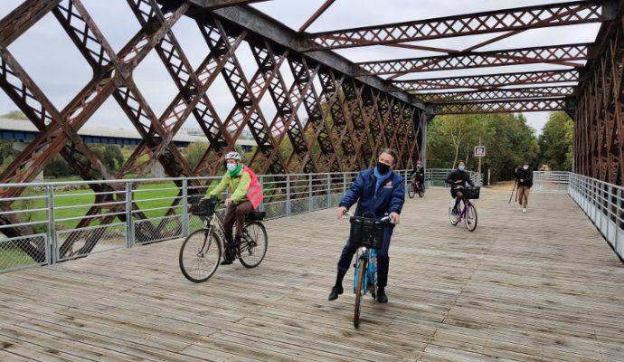 Le pont de Segré accessible aux angevins