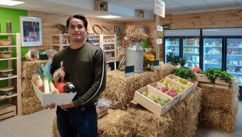 Jérémie Tran a ouvert sa boutique de produits locaux à Trélazé