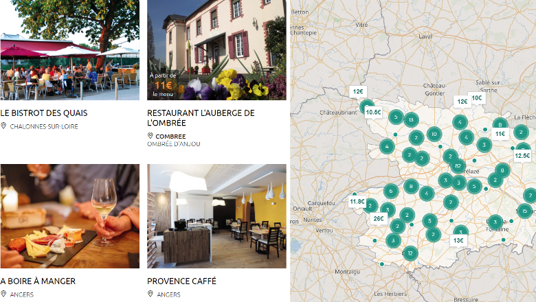 Anjou tourisme resto