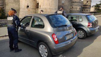 Confinement : les contrôles se poursuivent à Angers