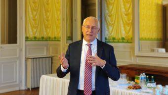 Pierre Ory, nouveau préfet de Maine-et-Loire, prend ses fonctions