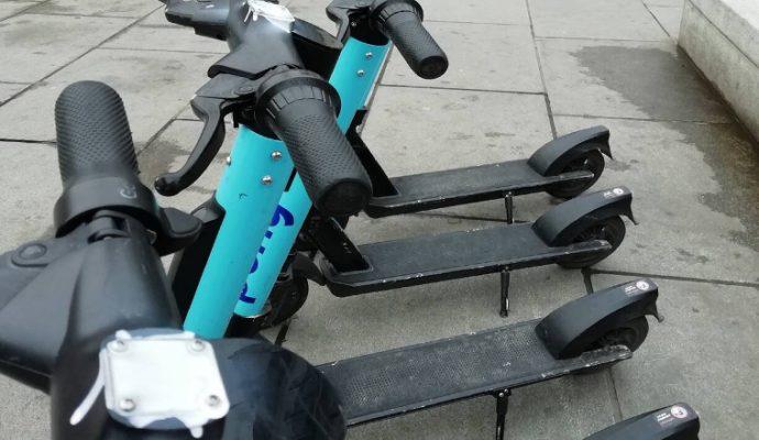 Une centaine de trottinettes Pony Bikes mises hors service par Youth For Climate