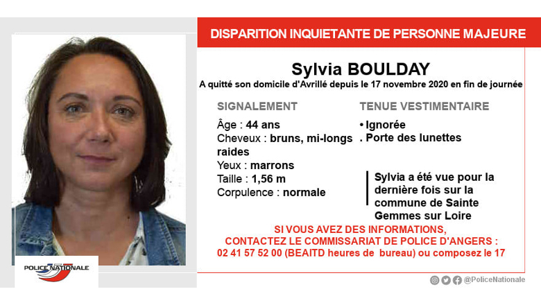 disparition inquiétante