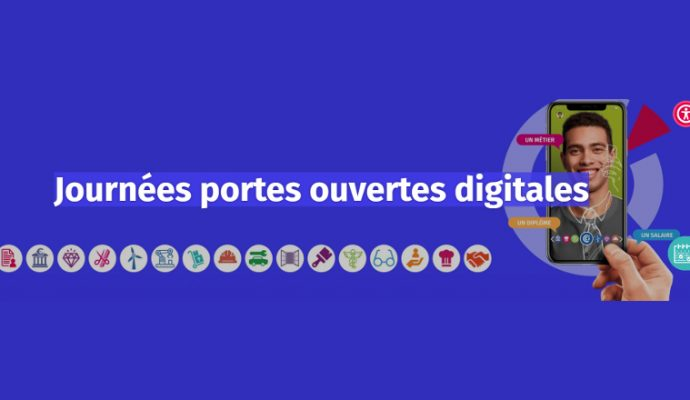 Portes ouvertes du CFA de la CCI de Maine-et-Loire en ligne