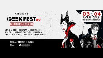 Ouverture de la billetterie pour la prochaine édition d'Angers Geekfest