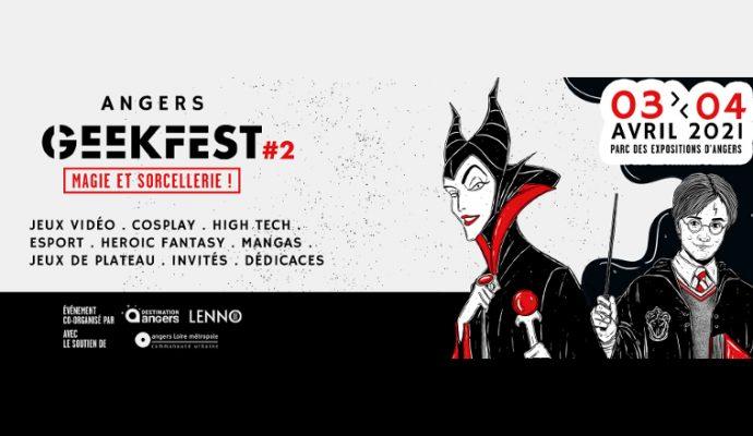 La 2e édition d'Angers Geekfest reportée au mois de septembre