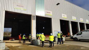 Les travaux se poursuivent sur le site de Biopole pour créer un nouveau centre de tri