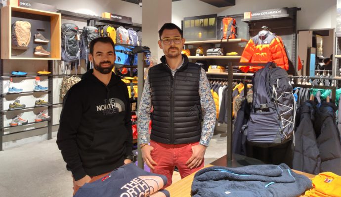 L'enseigne The North Face s'installe à Angers
