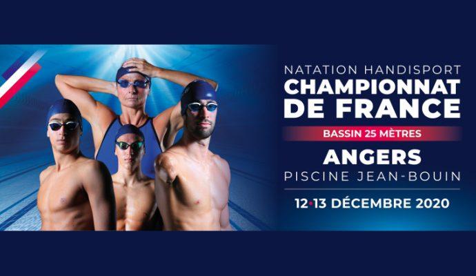 Le championnat de France de natation handisport se tient à Angers les 12 et 13 décembre