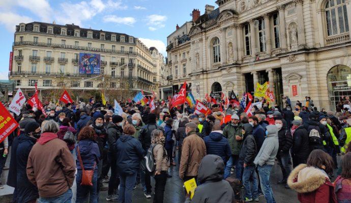 Nouvelle journée de mobilisation à Angers contre la loi « sécurité globale »