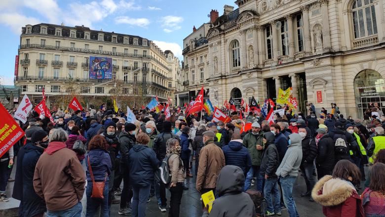 Manifestation Ralliement