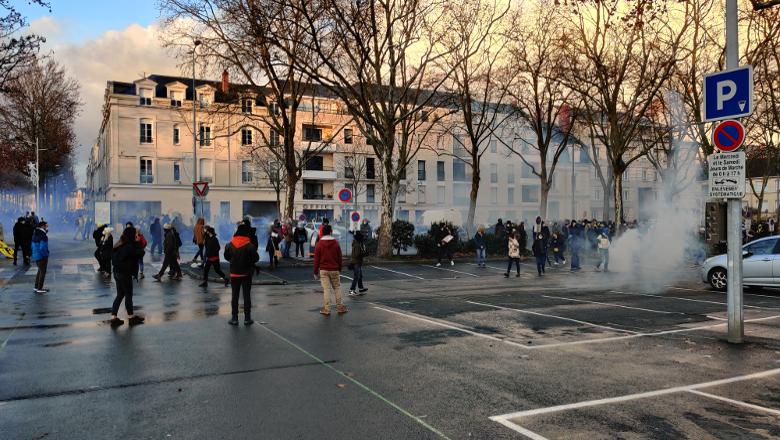 Manifestation commissariat