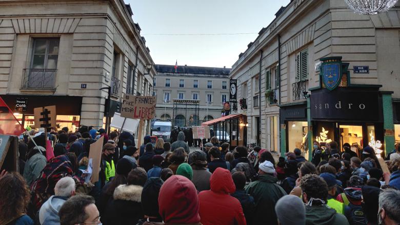Manifestation préfecture