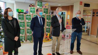 Plus de 2 500 jouets remis aux Restos du cœur