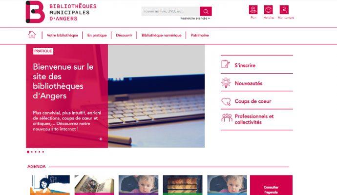 Les bibliothèques municipales bénéficient d'un nouveau site internet
