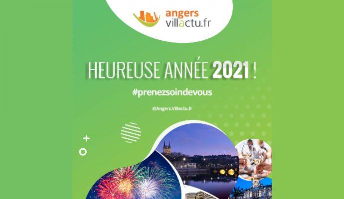 Angers Villactu vous souhaite une très bonne année 2021 !