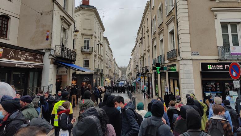 Manifestation PMA-extrême droite Alvarium