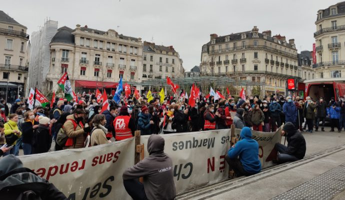 Loi sécurité globale : 600 manifestants à Angers et des tensions