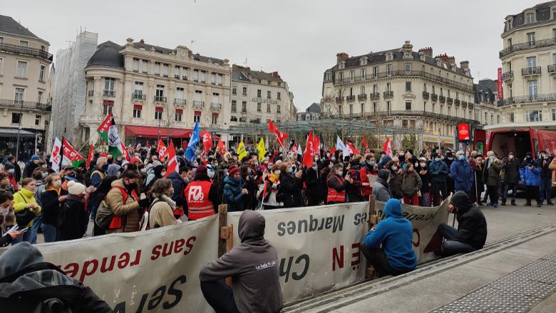 Manifestation loi sécurité globale Ralliement