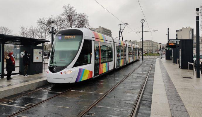 La nouvelle ligne A du tramway a été mise en service