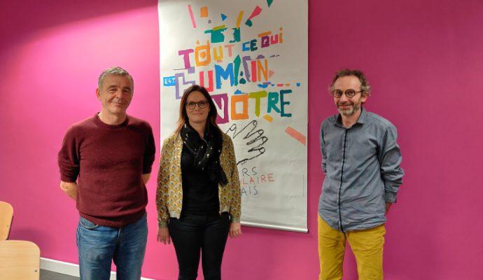 Deux nouveaux visages à la tête du Secours populaire de Maine-et-Loire