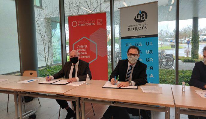 L'université d'Angers signe un partenariat pour accélérer sa transition énergétique