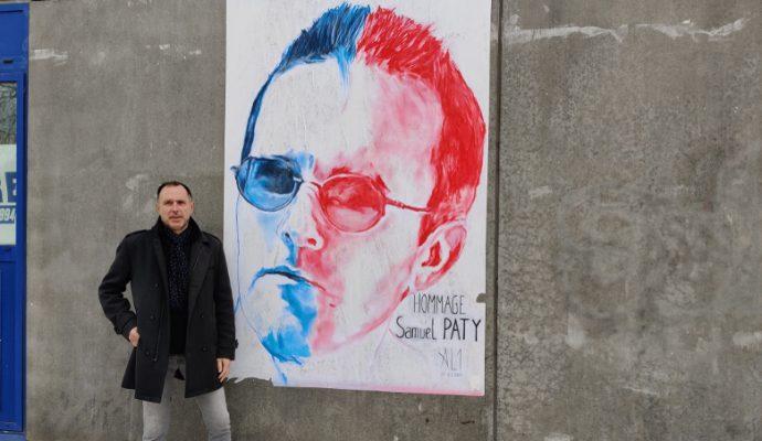 AL1, l'artiste qui habille les murs de la ville de tableaux urbains