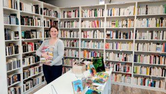 Librairie de livres d'occasion, le Bibliovore s'installe place de la République