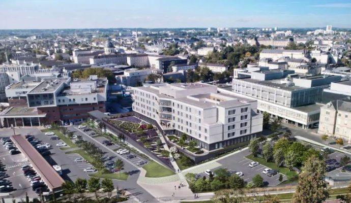 Le CHU d'Angers ne manque pas de projets pour les années à venir