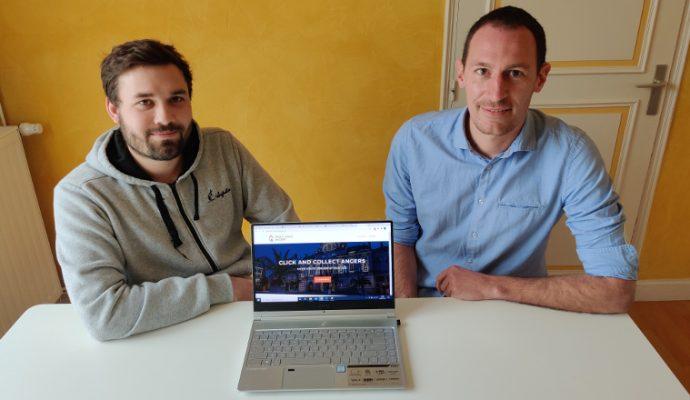 Pour soutenir les commerçants, ils lancent le site Click and Collect Angers