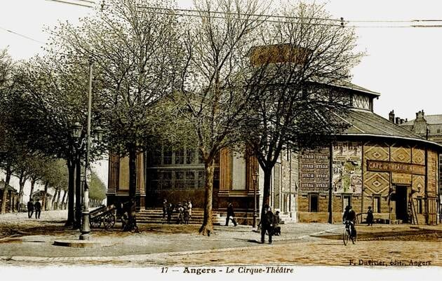 Le cirque théâtre - Archives ville d'Angers